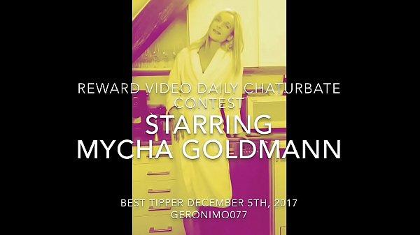 Reward Video Daily Webcam Contest 05.12.2017 Starring Mycha Goldmann