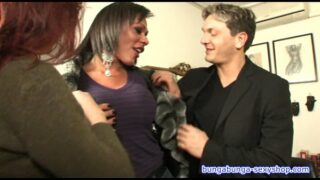 Threesome, transsexual and boy fuck Alice ricci. Directed by Roby Bianchi